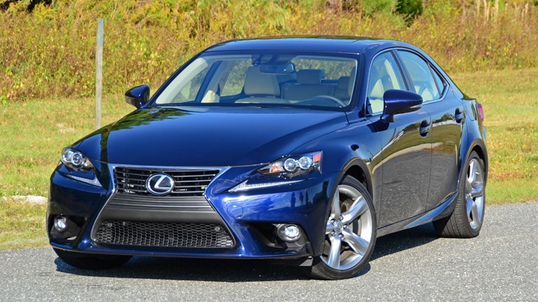 2015 Lexus IS 350 AWD Review & Test Drive