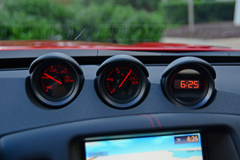 2015 Nissan 370z Nismo Gauge Pods
