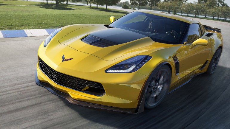 2015 Chevrolet Corvette Z06 jumps to lightspeed in less than 3 seconds