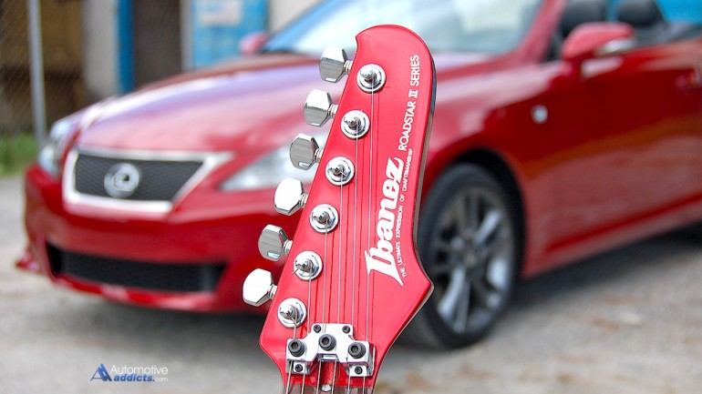 Japanese Convertibles: The 1985 Ibanez Roadstar II and 2014 Lexus IS 350 C