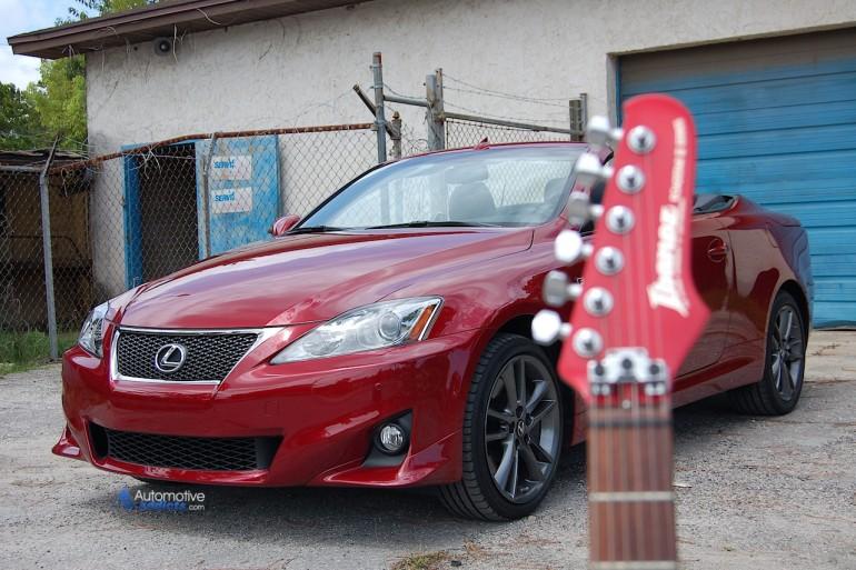 Ibanez Roadstar and Lexus IS 350