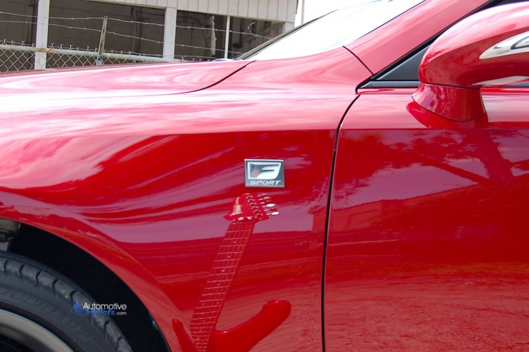 Ibanez Roadstar II and Lexus IS 350 C