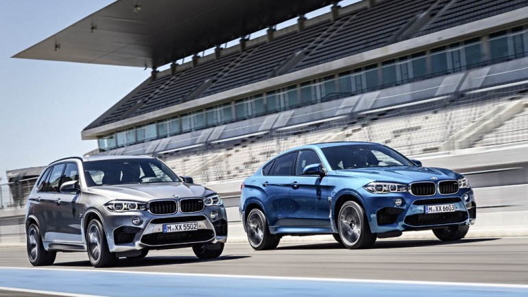 2015 BMW X5 M and X6 M Performance Utility Vehicles Revealed before LA Auto Show