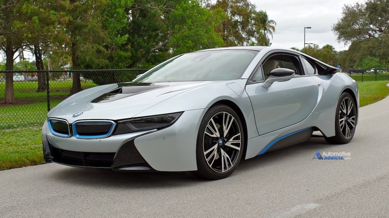 Automotive Addicts takes a quick spin in the 2014 BMW i8