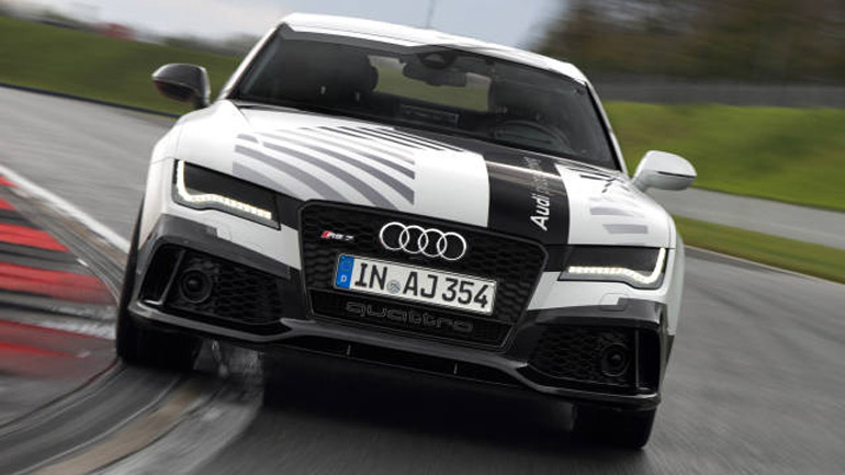 Audi RS7 Drives Itself Around Hockenheim at 150 MPH: Video