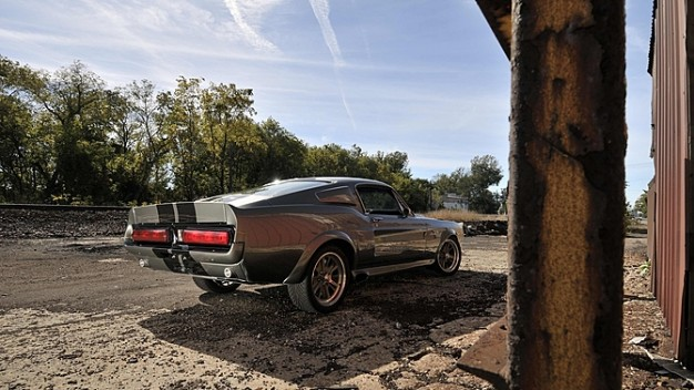 Authentic Hero Mustang Shelby GT500 Eleanor from Gone in 60