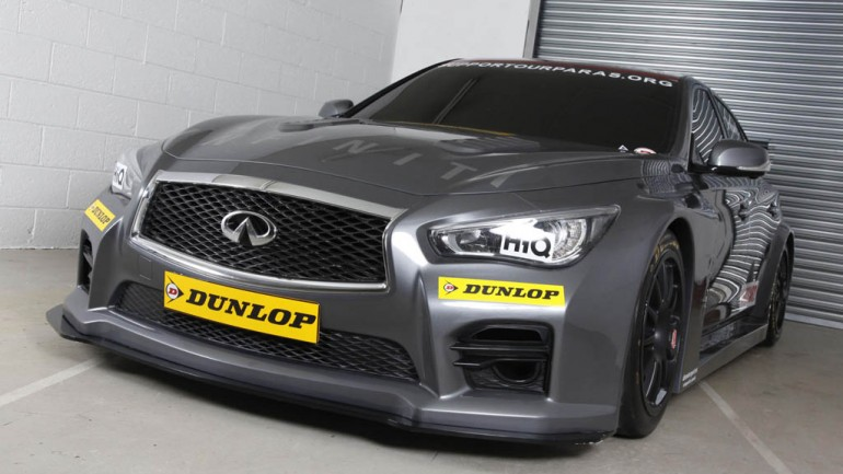 Infiniti Poised to Enter British Touring Car Championship in 2015 with Q50 Racecar