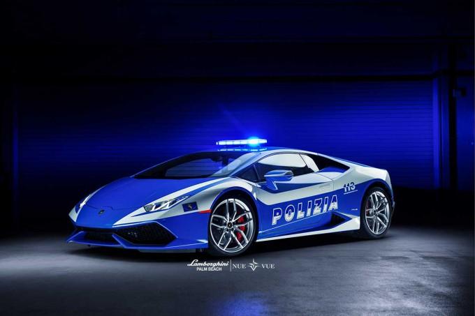 Huracan Lamborghini Police Car