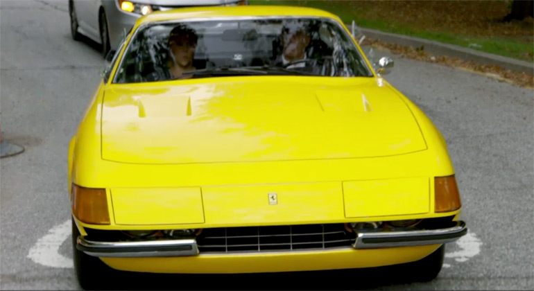 Jerry Seinfeld Scoops up Amy Schumer In 1971 Ferrari Daytona GTB/4 In Latest Comedians In Cars Getting Coffee: Video