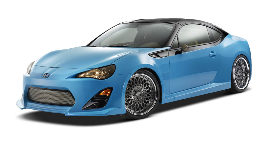 Sema 2014 Scion Takes Stab At Drawing A Crowd With Tuner Challenge
