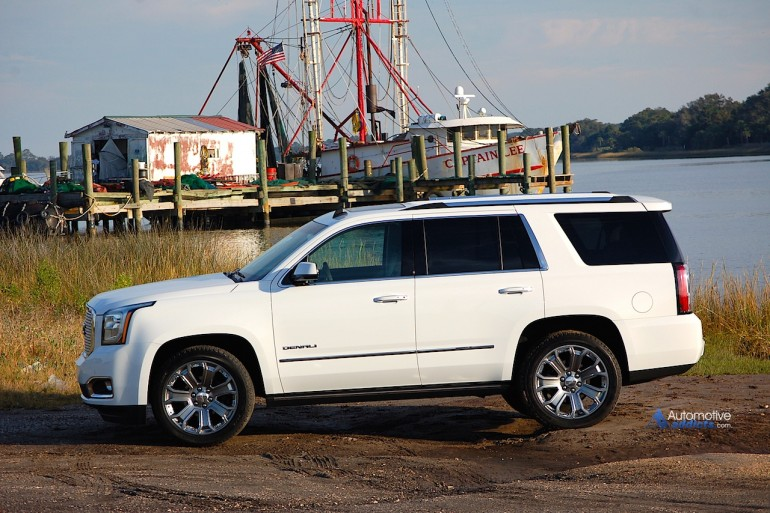 2015 gmc yukon denali 2wd test drive and review. Black Bedroom Furniture Sets. Home Design Ideas