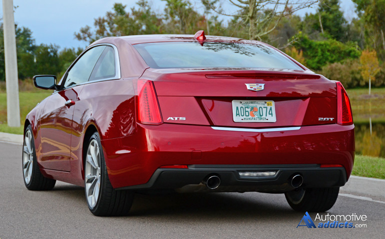In Our Garage: 2015 Cadillac ATS Coupe 2.0T Premium