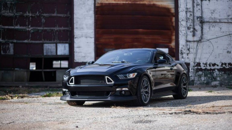 Vaughn Gittin Jr Unleashes 2015 Ford Mustang RTR