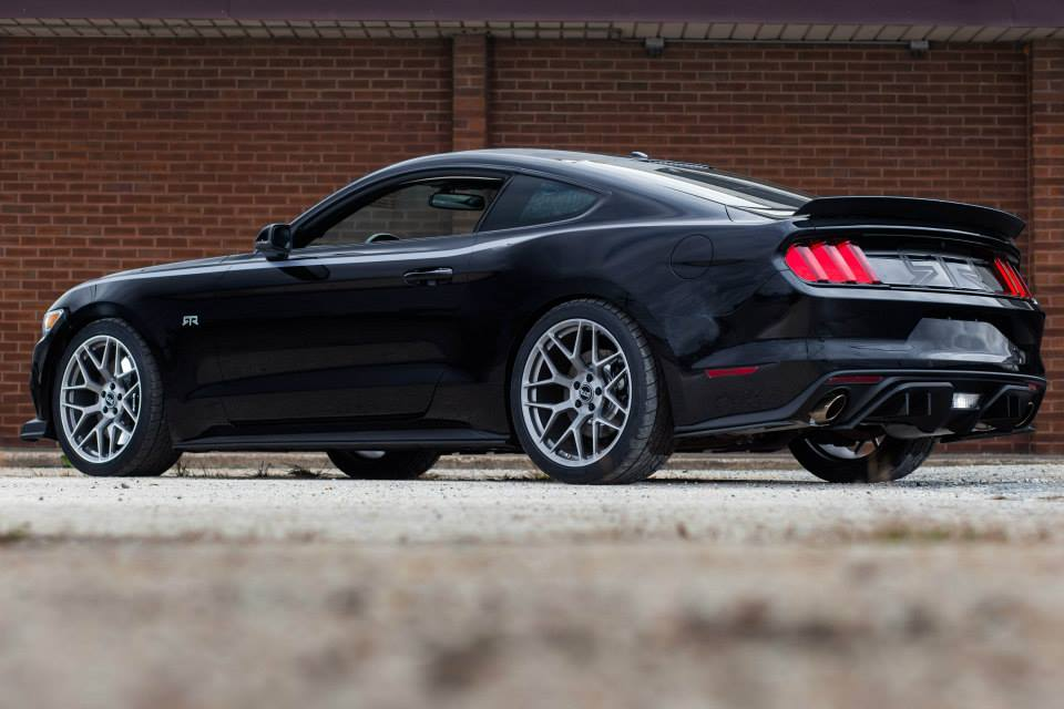 Vaughn Gittin Jr Unleashes 2015 Ford Mustang Rtr