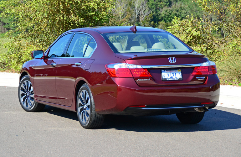 2015 Honda Accord Hybrid Touring Rear
