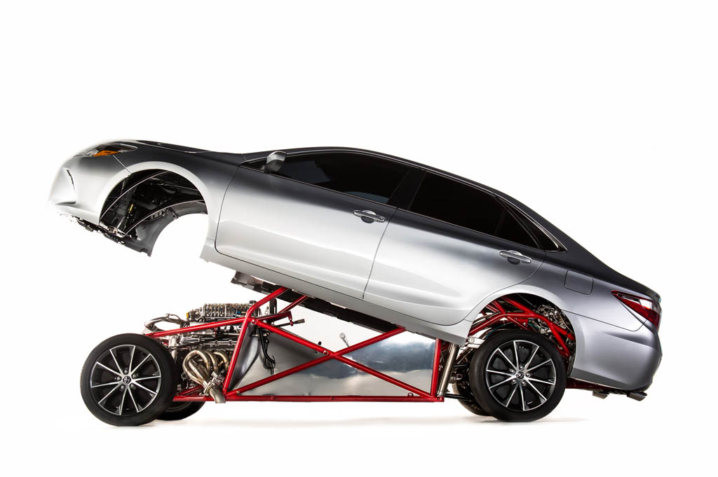 Toyota Sleeper Camry Debuts at SEMA with Racecar Chassis and 850 ...
