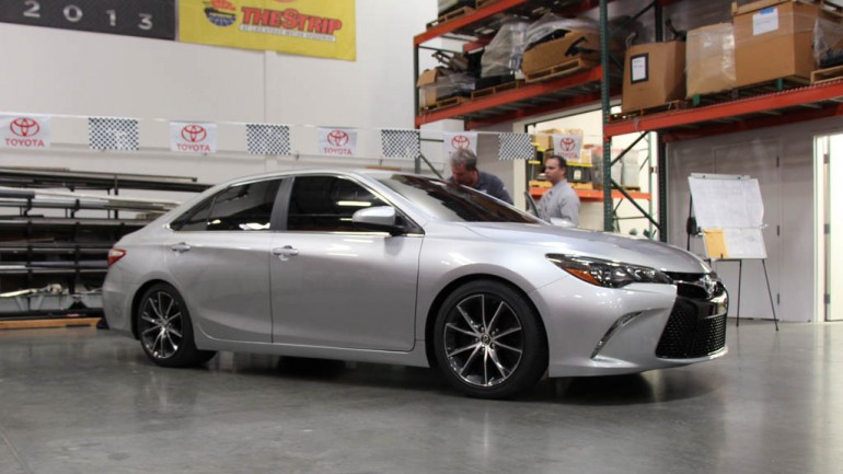 Toyota Sleeper Camry Debuts at SEMA with Racecar Chassis and 850 Horsepower w/Video