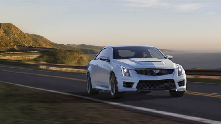 2016 Cadillac ATS-V Coupe and Sedan Officially Revealed w/455hp and 6-Sp Manual