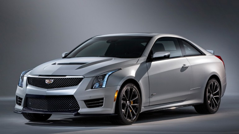 2016 Cadillac ATS-V Uncovered before Official Debut (first official images)