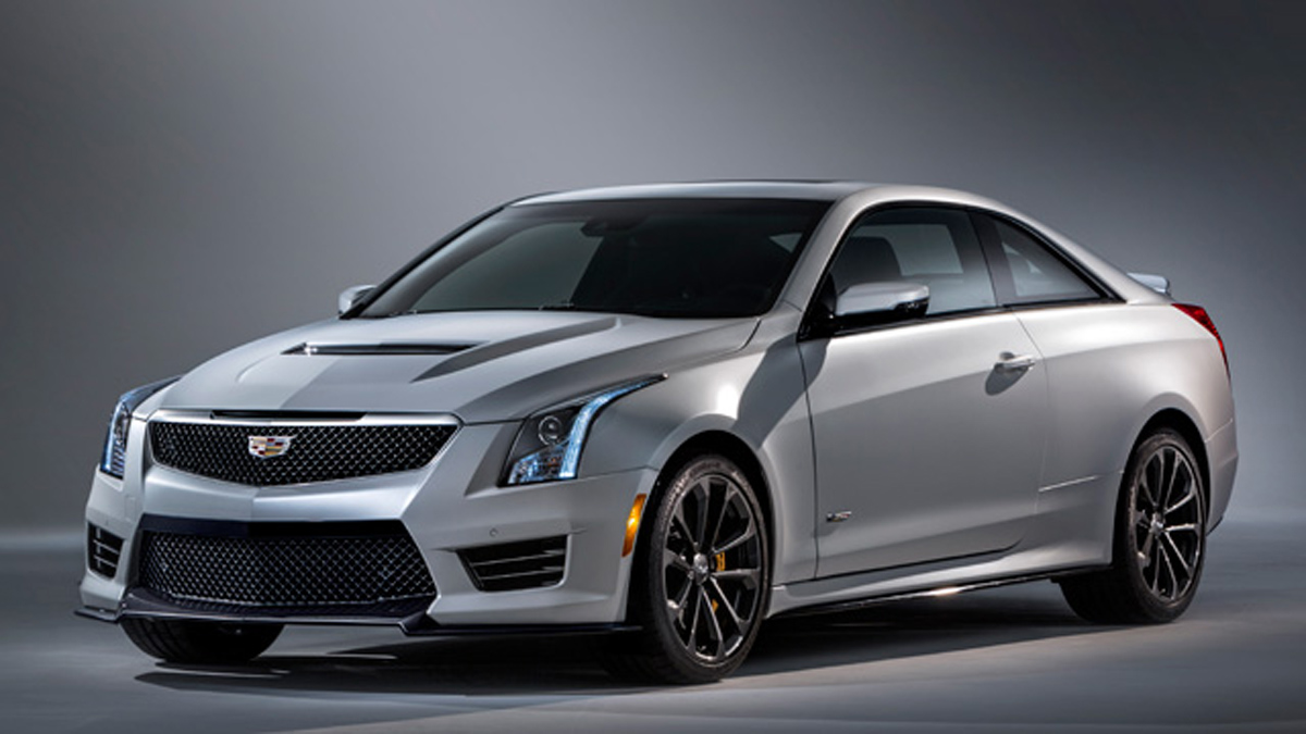 2016 cadillac ats v uncovered before official debut first official images. Black Bedroom Furniture Sets. Home Design Ideas