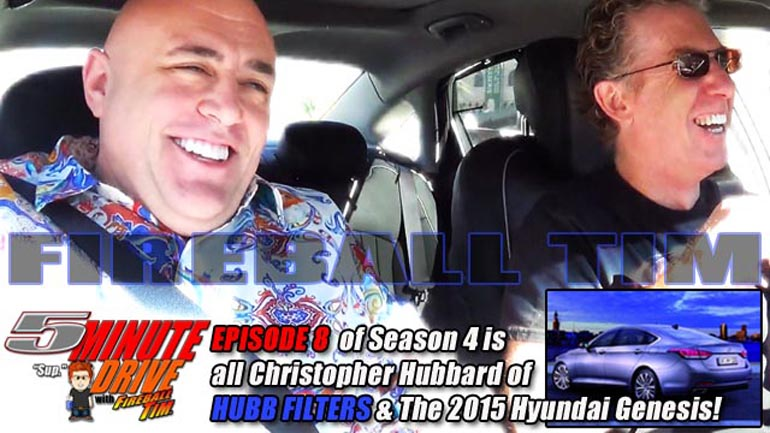 New episode of 5MINUTE DRIVE w/ the 2015 Hyundai Genesis & HUBB Oil Filters