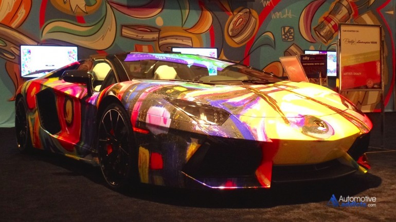 "2014 Miami International Auto Show First Ever ""Cars Meet Art"""