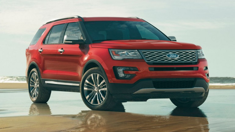 All-New 2016 Ford Explorer Revealed at LA Auto Show