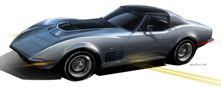1971 Chevy Corvette Stingray SEMA