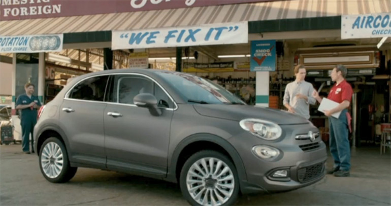 "Fiat Tackles ""Fix It Again, Tony"" In New 500X Commercial: Video"