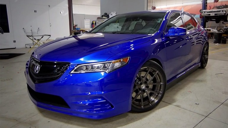 SEMA 2014: Galpin Acura TLX Turns Heads in Vegas – Video