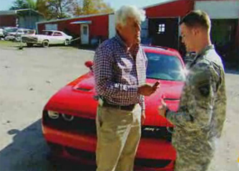 jay-leno-surprises-wounded-vet-challenger-hellcat