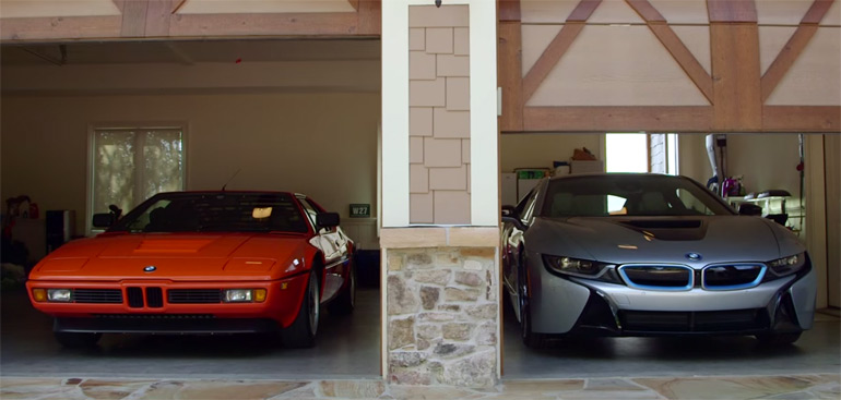 The Perspective from an Avid BMW Collector and his New i8: Video