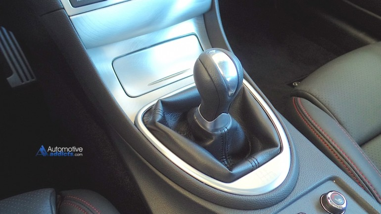 Short Throw to Infiniti – The 2015 Q60S Shifter is FAST