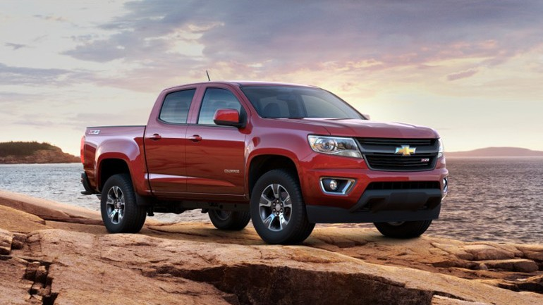 2015 Chevrolet Colorado Takes Motor Trend Truck of the Year Award