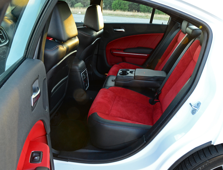 Dodge Charger Interior Back Seats Seat Upholstery Rear