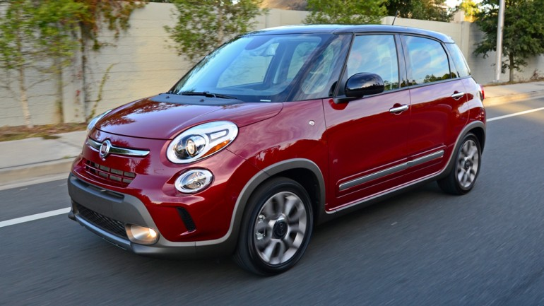 2015 FIAT 500L Trekking Review & Test Drive