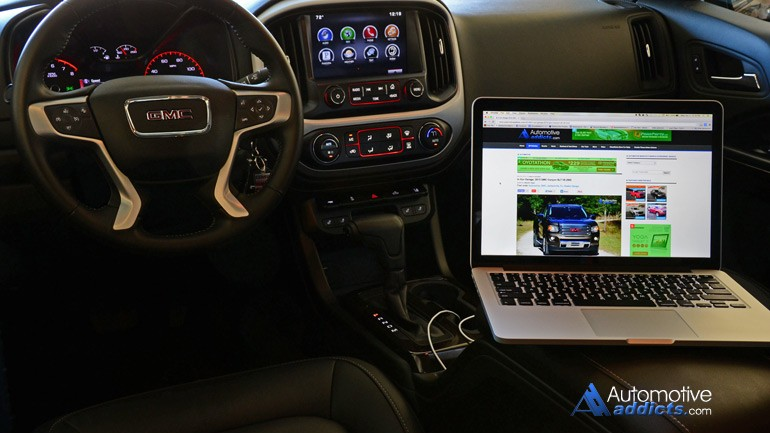 Can Your Wi-Fi Hot Spot Tow a Boat? I didn't think so – 2015 GMC Canyon w/ 4G LTE