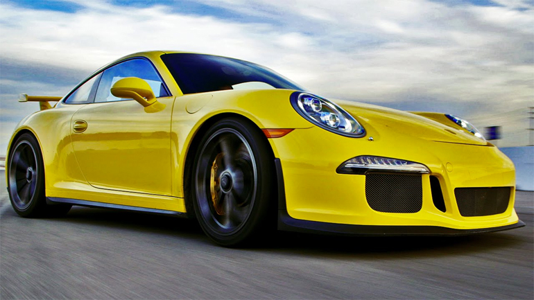 2015 Porsche 911 GT3 on Ignition: Video
