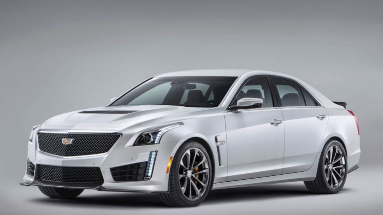 2016 Cadillac CTS-V Officially Introduced with 640-HP and 200 MPH Top Speed – Video