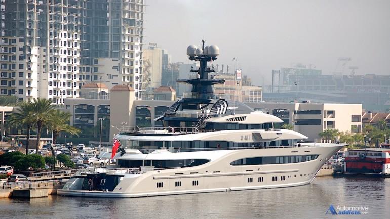 Shad Kahn's 312-foot Motor Yacht Kismet Makes You Smile