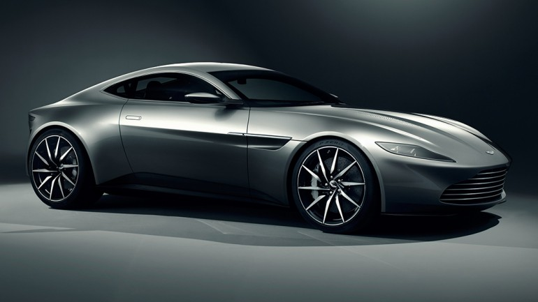 Aston Martin DB10 Debuts for James Bond 007 Spectre Movie