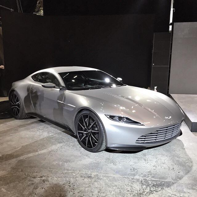 aston martin db10 debuts for james bond 007 spectre movie