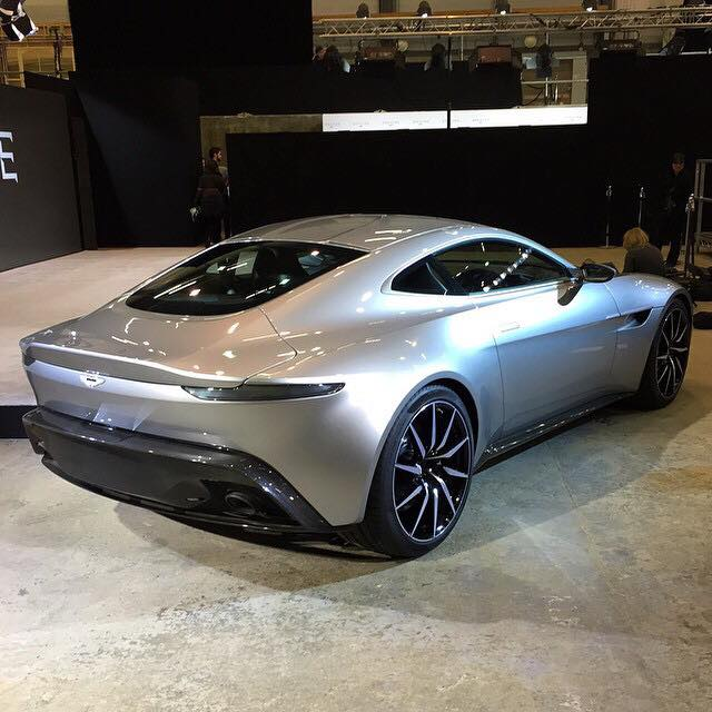 Simple Aston Martin DB10 Debuts For James Bond 007 Spectre Movie