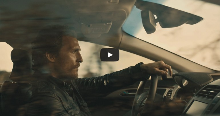 Alright, Alright – Matthew McConaughey Finds Balance in Lincoln MKZ Hybrid Commercial: Video