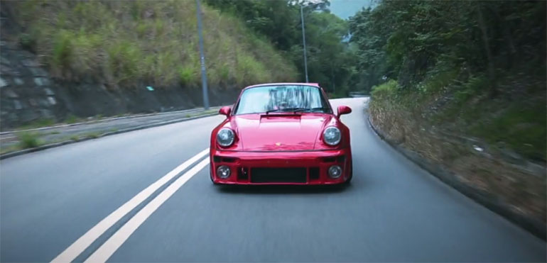 Life's Too Short To Drive Boring Cars – Porsche 911 964 Turbo Video