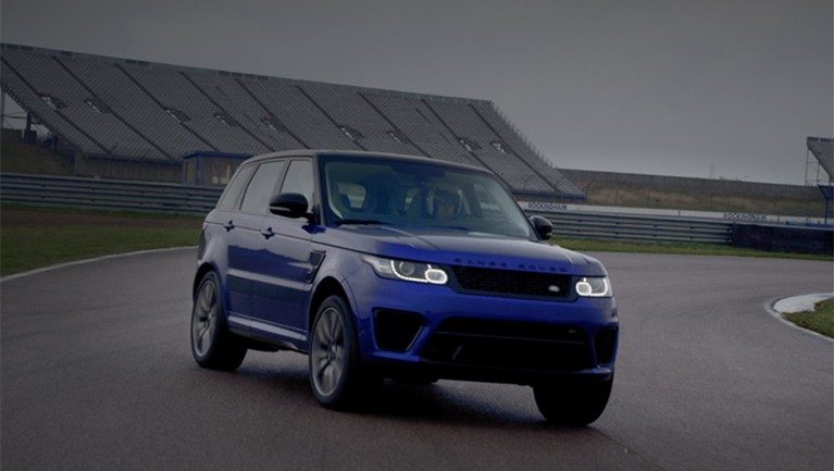 Range Rover Sport SVR Pushed To The Limit: Video