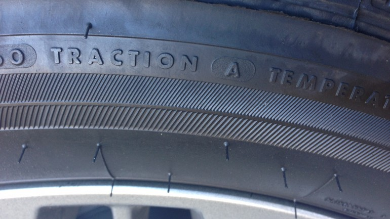 Say what? Those little hairs on your new tires really do have a name