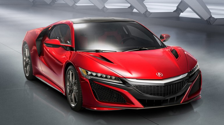 Acura Reveals All-New Production NSX at 2015 Detroit Auto Show
