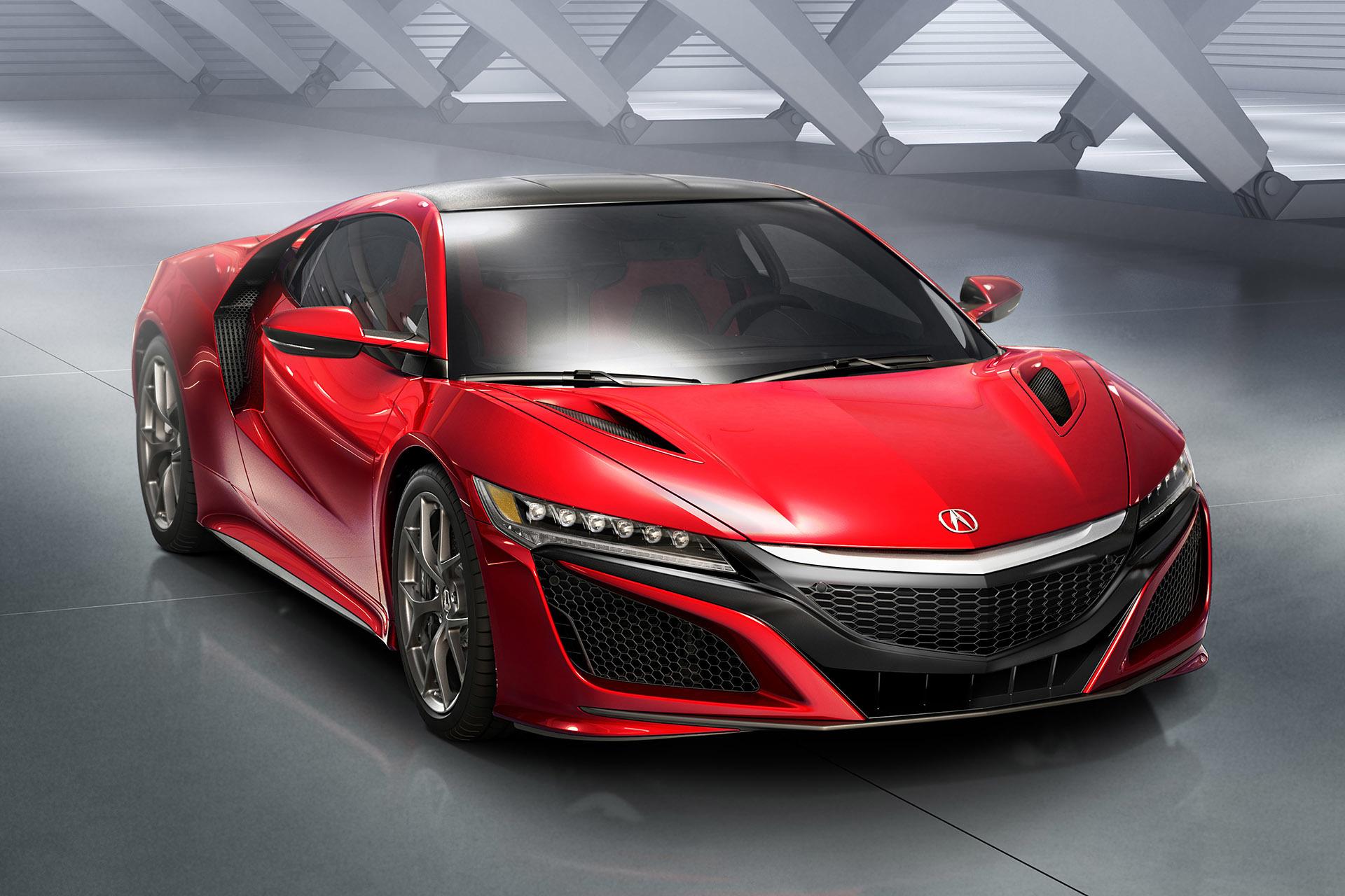 Acura Reveals AllNew Production NSX at 2015 Detroit Auto Show