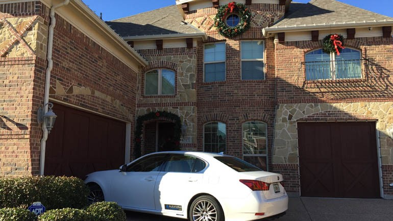Family Holiday Excursion in a Lexus GS 450h Hybrid